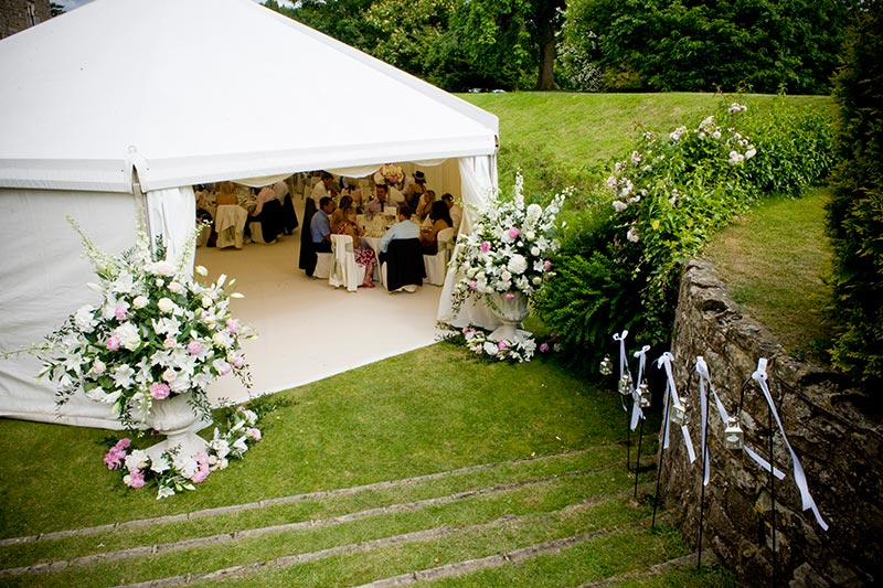 Rustic themed marquee hire | Lewis Marquees