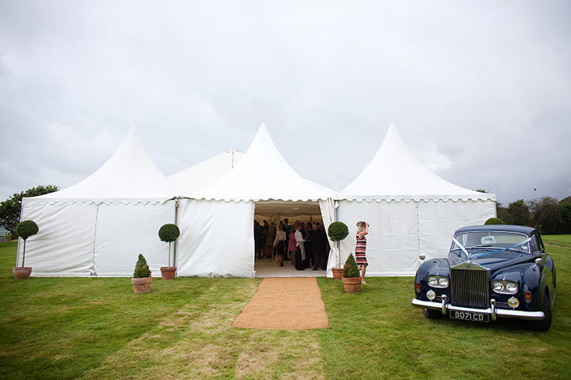 Pagoda (Chinese hat) wedding marquee hire | Lewis Marquees