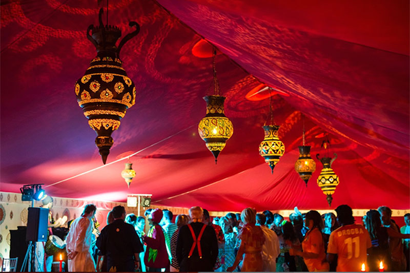 Glamorous Indian wedding marquee | Lewis Marquees