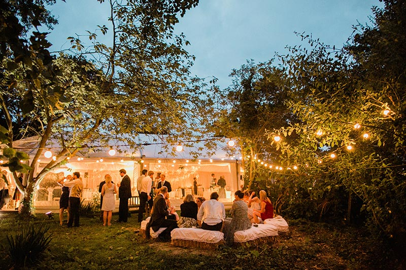 Autumn marquee wedding | Lewis Marquees