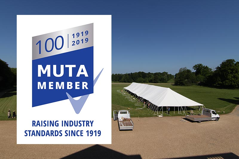 Celebrating our 100th year as a MUTA member | Lewis Marquees