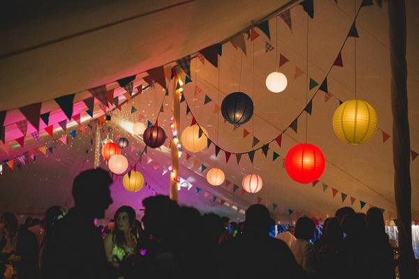 Party in a marquee | Lewis Marquees