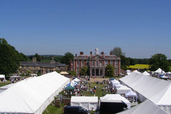 Marquee Hire Hampshire - Stansted House show marquees