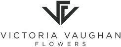 Victoria Vaughan flowers logo
