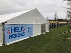 Help NHS Hereos Frame Marquee | Lewis Marquees