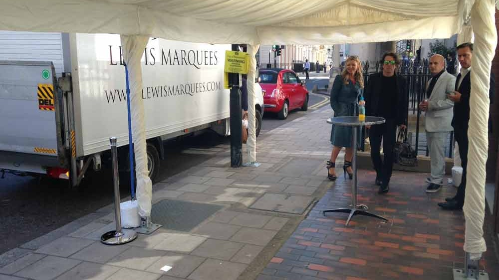 Pub Marquee | Lewis Marquees