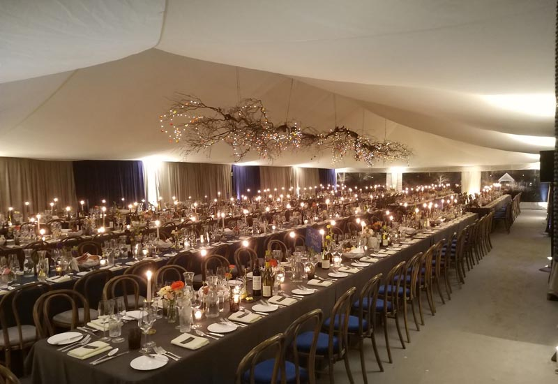 Winter Marquee Dining | Lewis Marquees