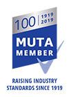 MUTA Member Centenary logo