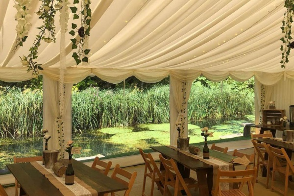 Marquee Linings | Lewis Marquees
