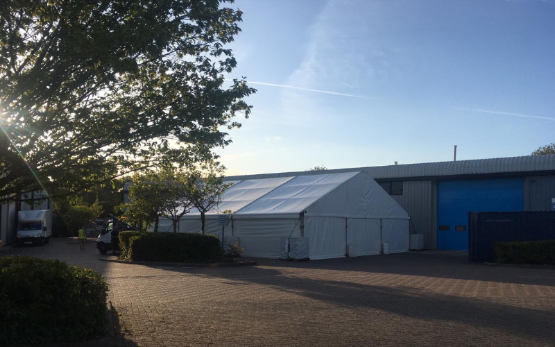 Can you put a Marquee Anywhere | Lewis Marquees
