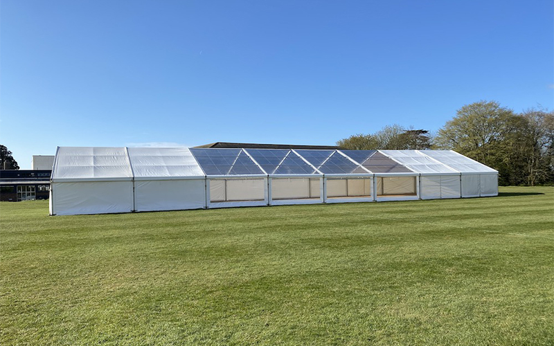 Lewis marquees product launch marquee | Lewis Marquees
